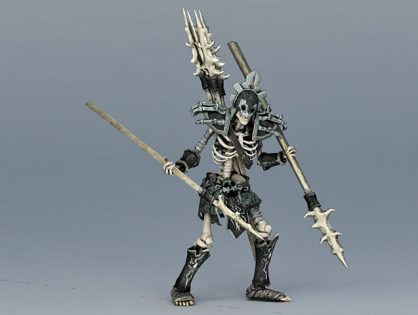 Skeleton Spearman 3D model