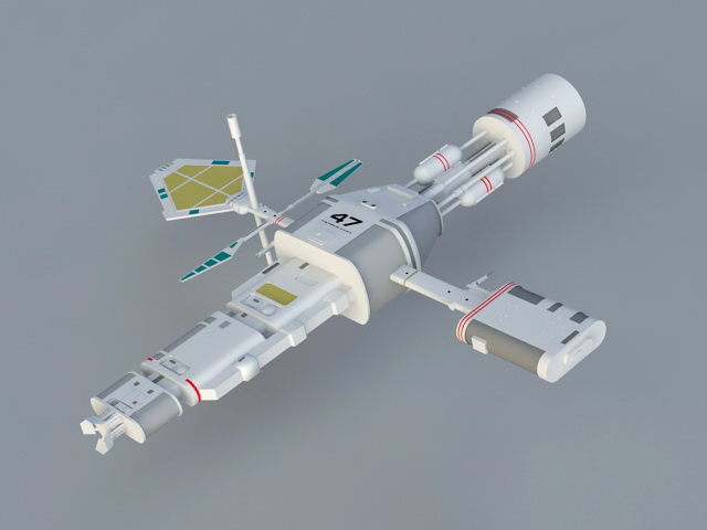 Subspace Relay Station 3D model