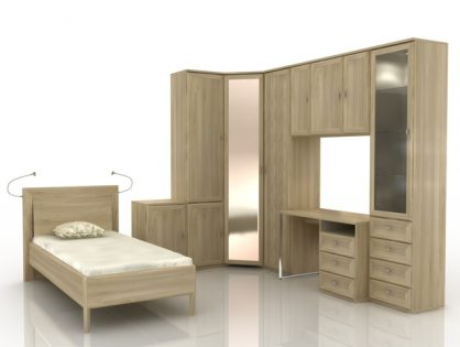 Teenage Furniture set 3D model