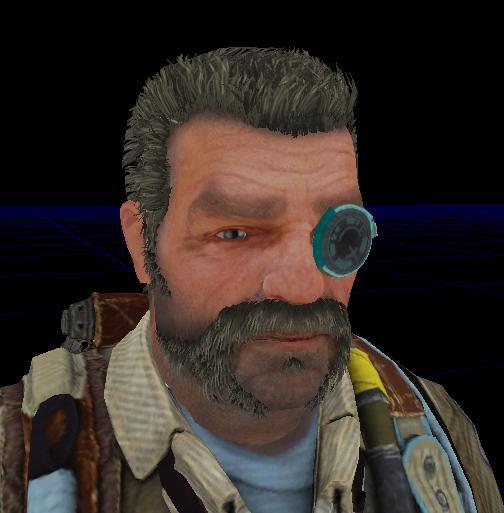 Whit Oliver  Bulletstorm character 3D model
