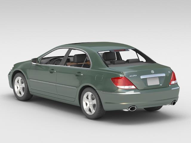 Acura RL 3D model