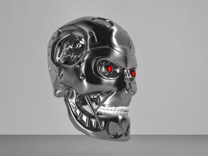 Terminator Head Skull