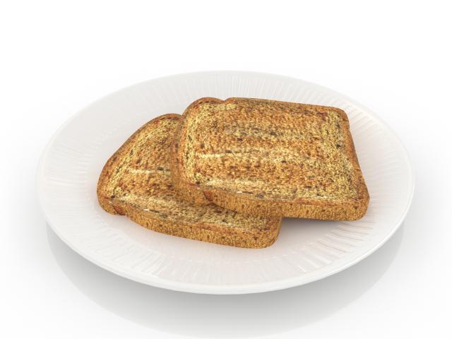 Toasts 3D model